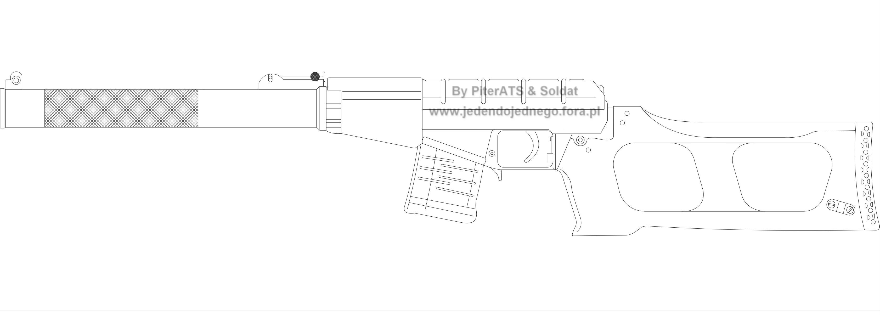 Как сделать винтовку своими руками из бумаги