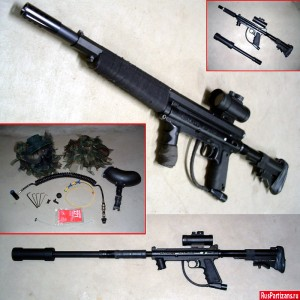 Тюнинг маркера Tippmann 98 Custom (снайперская винтовка)