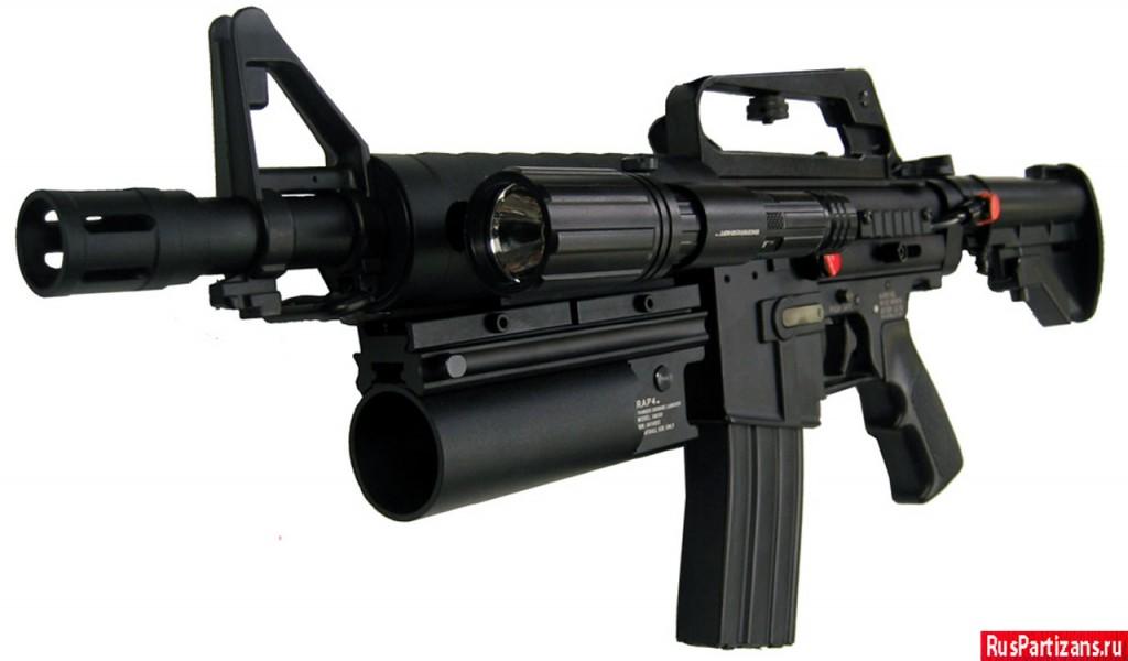 Модернизированный маркер Tippmann 98 Custom