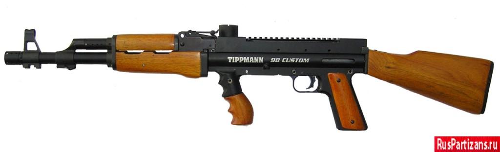 Модернизация маркера Tippmann 98 Custom