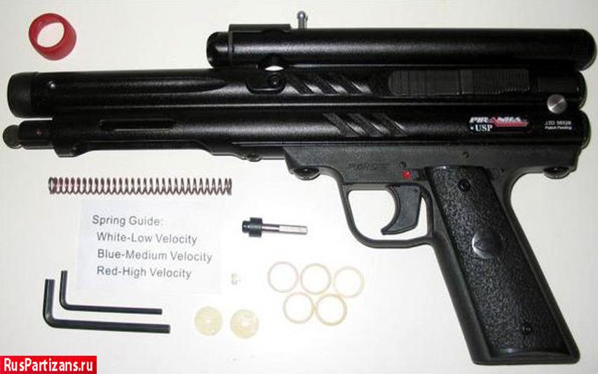 Пистолет Piranha USP фото 3