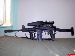 Небольшой внешний тюнинг маркера BT-4 SWAT №1