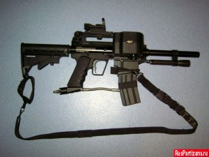 Небольшой внешний тюнинг маркера BT-4 SWAT №2