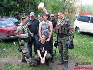 Фото №8 с Больших Пейнтбольных Маневров 2010 года «Трансвааль»