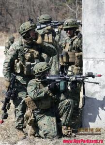 Army laser tag tactical (тренировка американских солдат)