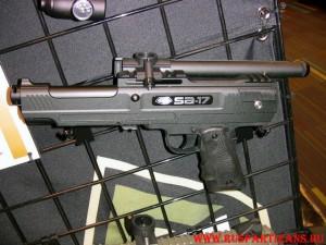 Внешний вид пейнтбольного пистолета BT SA-17 Pistol - фото 1
