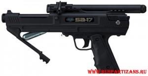 Система перезарядки баллончика на пистолете BT SA-17 Pistol