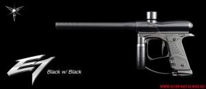 Цвет Black-Black маркера Dangerous Power E1